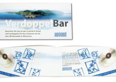 Einladungskarte an die e-world